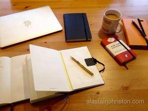 Setting up Bullet Journal