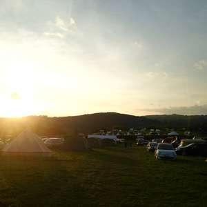 Hay camping